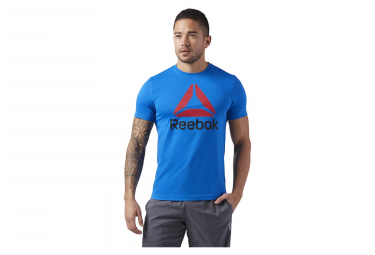 Reebok QQR Reebok Stacked T-Shirt Blue