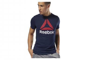 T-shirt Reebok QQR Reebok impilabile blu scuro