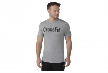 Maillot Manches Courtes Reebok CrossFit SpeedWick F.E.F Gris