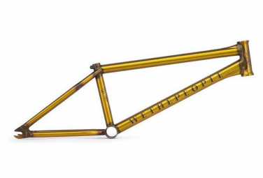 WeThePeople BMX Freestyle Frame Battleship Gold 2019