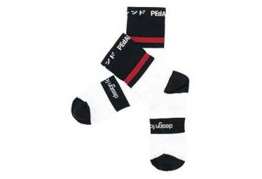 Pedal ed pro calcetines big stripes negro 35 38