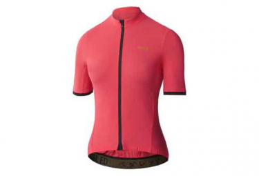 Image of Maillot manches courtes femme pedal ed kawa essential rose s