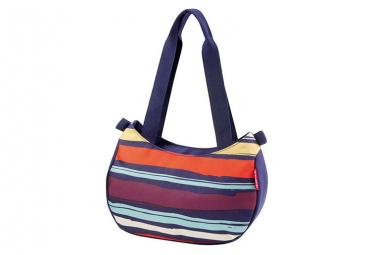Klickfix Handbag ''STYLEBAG'' Artistic Stripes