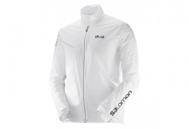 Veste Coupe-vent Salomon S/Lab Light Blanc