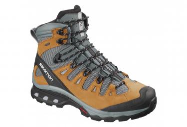 Salomon Quest 4D 3 GTX Hiking Shoes Grey Brown