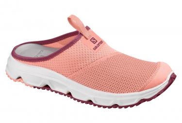 Chaussures de Récupération Femme Salomon Rx Slide 4.0 Rose