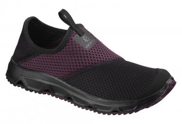 Chaussures de Récupération Femme Salomon Rx Moc 4.0 Noir Violet
