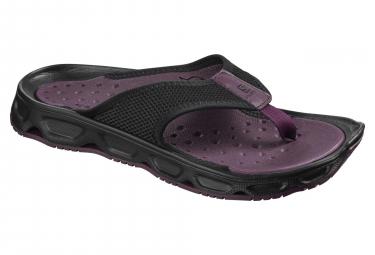 Chaussures de Récupération Femme Salomon Rx Break 4.0 Potent Violet Noir