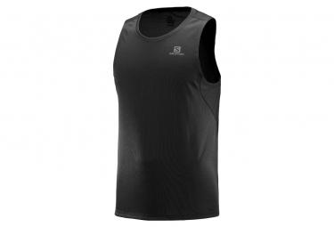 Salomon Agile Tank T-Shirt Black
