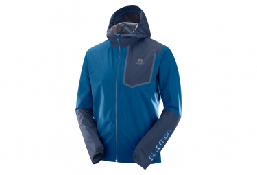 Salomon Bonatti Pro Waterproof Jacket Blue