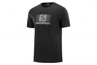 Salomon Blend Logo Short Sleeves T-Shirt Black