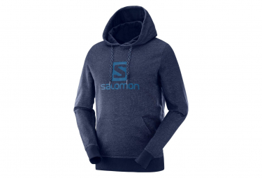 Sweat à Capuche Salomon Logo Night Sky