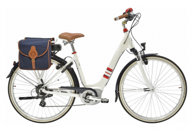Gitane Electric City Bike e-Salsa In s de la Fressange Mixed 8s Bianco 2019