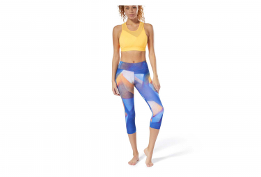 Reebok Lux Bold Women 3/4 Tights Blue