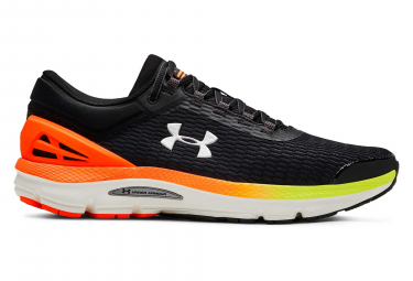 Zapatillas Under Armour Charged Intake 3 para Hombre Negro / Amarillo / Naranja / Fluo