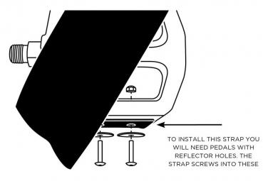 Restrap Diagonal Straps Black