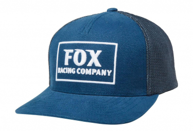 Fox Heater Snapback Hat Navy Blue