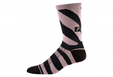 Fox Women Mid-High Socks Black / Purple