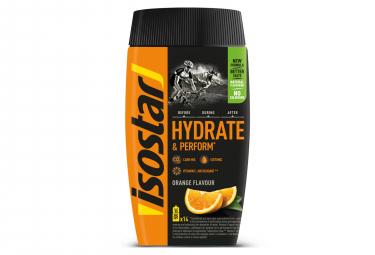 ISOSTAR Polvo hidratar y REALIZAR 560 gr sabor Naranja