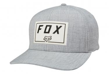 Casquette Fox Trace Flexfit Gris