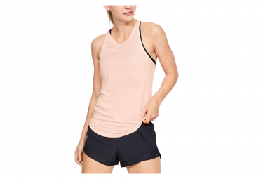 Débardeur Femme Under Armour Qualifier HexDelta Rose