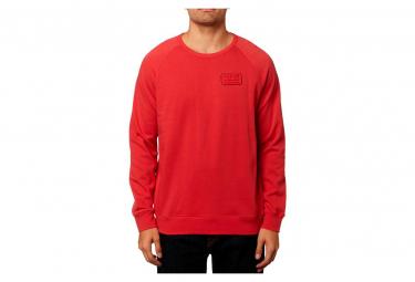 Fox Resin Crew Fleece Red Xl