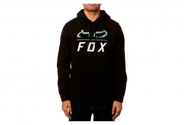 Sudadera fox furnace fleece negro m