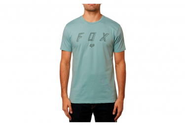 Fox Barred Kurze Ärmel Prenium T-Shirt Blau
