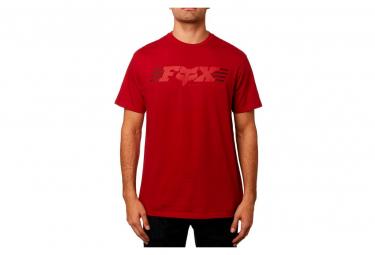 Camiseta De Manga Corta Fox Muffler Cardinal S
