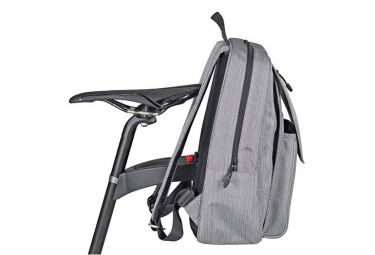 Sac à Dos de Selle Klickfix Freepack City Gris