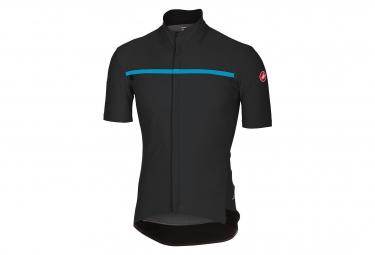 Castelli Gabba 3 Short Sleeves Jersey Sky Team Inside Black