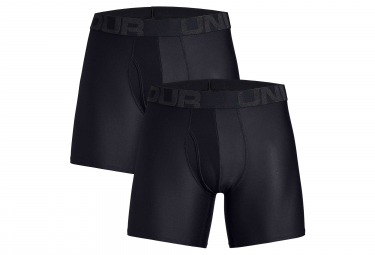 Lot de 2 Boxers Under Armour Tech 15 cm Boxerjock Noir