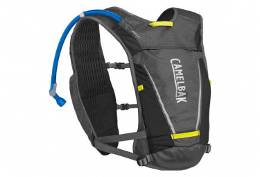 Camelbak Backpack Circuit Vest + Water Bottle 1.5L Grey Black