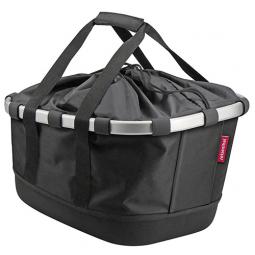 Klickfix Bag BIKEBASKET GT pour Uniklip Noir