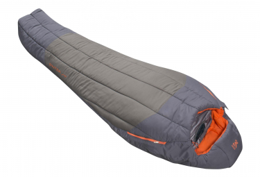 Millet Syntek 0° Reg D Sleeping Bag Grey Orange