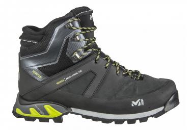 Millet High Route GTX Shoes Black Acid Green