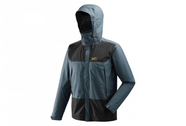 Millet Grands Montets GTX Waterproof Jacket Blue Black