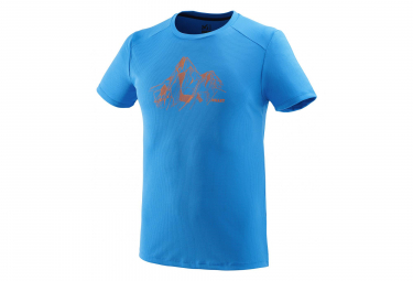 Millet Alpi Summit Short Sleeves T-Shirt Electric Blue