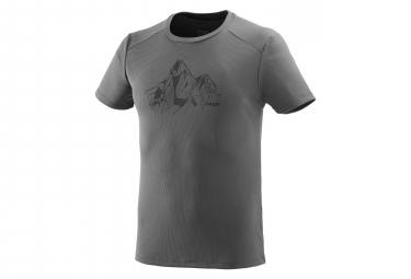 T-Shirt Manches Courtes Millet Alpi Summit Tarmac Gris