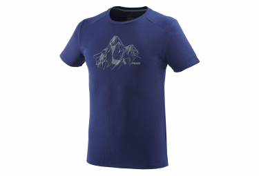 T-Shirt Manches Courtes Millet Alpi Summit Bleu