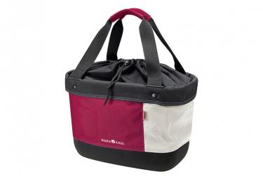 Klickfix Handlebar Bag Tissu Shopper Alingo Red