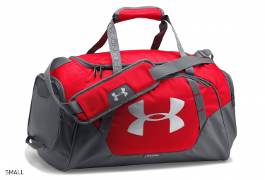 Under Armour Undeniable 3.0 Sport Bag Red Grey