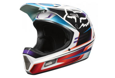 Fox Rampage Comp Helmet Reno Red/Blue