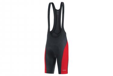 7a66a5f0332 nouveauté Cuissard GORE® C3 Shorts+ Noir Rouge