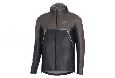 GORE® R7 Hooded Jacket GORE-TEX ShakeDry Trail Black Grey