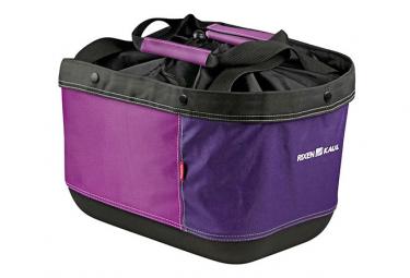 Sacoche de Porte-Bagage Racktime Klickfix Alingo GT Violet