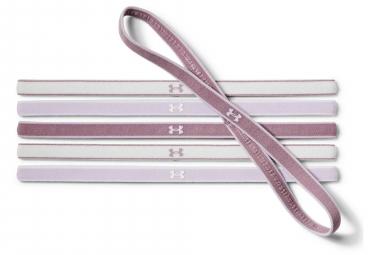Mini Bandeau Femme (6 pièces) Under Armour Mini Headbands Violet Gris