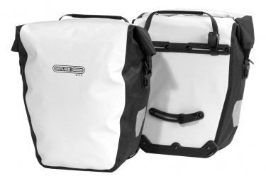 Ortlieb Pair of Back-Roller City 40 L White / Black