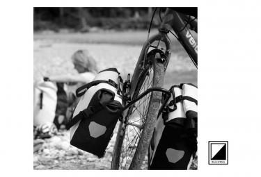 Paire de Sacoches de Porte Bagage Ortlieb Back-Roller City 40L Blanc / Noir