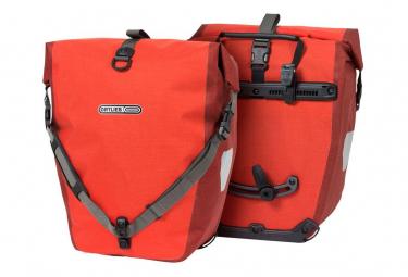 Paire de Sacoches de Porte-Bagage Ortlieb Back-Roller Plus 40L Rouge